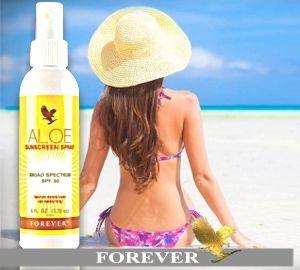 Aloe Sunscreen Spray comodo spray solare che protegge la tua pelle dal sole. Aloe Sunscreen Spray crema solare con aloe vera della Forever Living. Per riassumere Aloe Sunscreen Spray: L'alto fattore di protezione ripara dai raggi UVA & UVB Assicura la protezione per 80 minuti di attività in acqua Comoda formula spray [ Continua ] http://www.aloeverabenessere.it/aloe-sunscreen-spray-crema-solare-aloe-vera-resistente-acqua-alta-protezione-raggi-sole-uva-uvb/