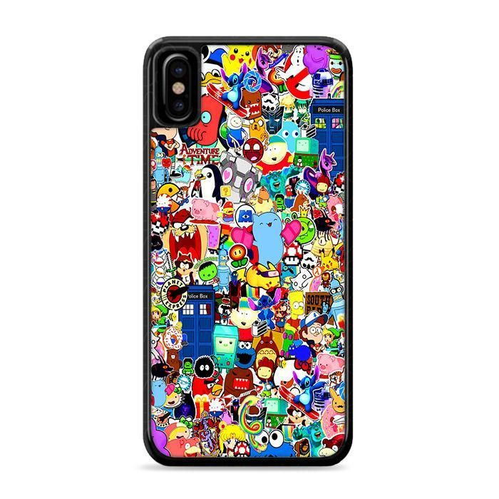 Cartoon Network Collage Iphone Xs Cases Leaftunes Iphone 11