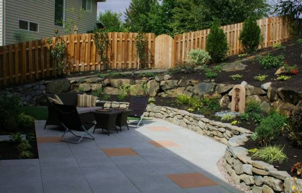1000 images about backyard ideas on pinterest family for Garden designs on a slope