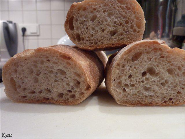 Выпечка хлеба и мои любимые рецепты - Деревенские багеты