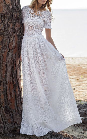 Costarellos Bridal Fall/Winter 2016 Look 9 on Moda Operandi