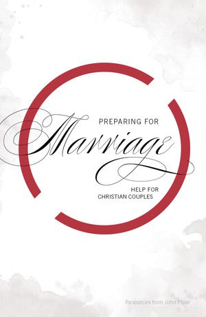 "Preparing for Marriage -  Help for Christian Couples // ""Preparing well for marriage means asking each other all the hard questions"" (p. 1). // http://www.desiringgod.org/books/preparing-for-marriage"