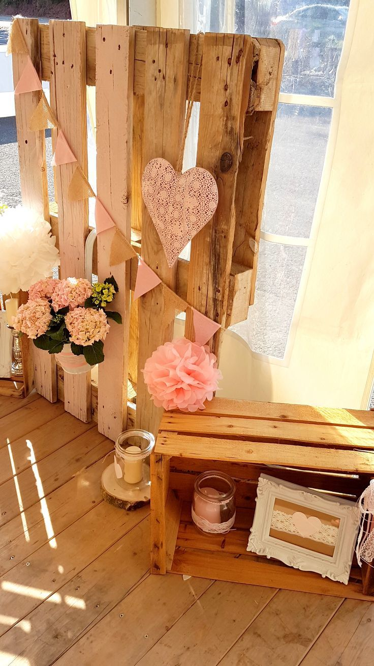 super Hochzeit / Deko / Dekoration / Weinkisten / Obstkisten / Bilderrahmen / Windlicht / Holz / Rustikal / Wedding / Decoration / DIY / Do it yourself / ro
