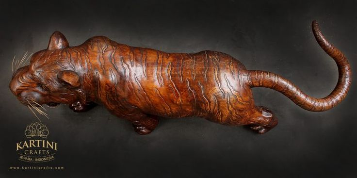 Animal Wooden Sculpture from Kartini Crafts indonesia