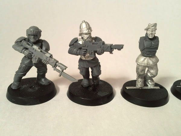 Victoria Miniatures Conversion Parts Imperial Guard Wargaming Warhammer 40k