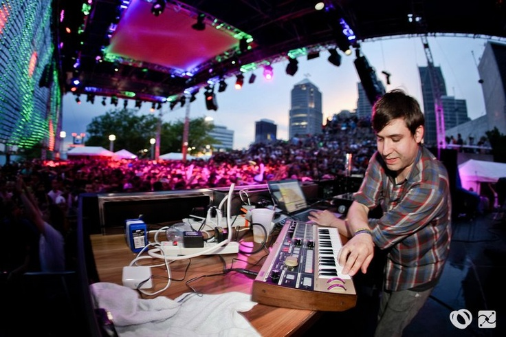 Eliot Lipp at Redbull Music Academy Stage during Movement Detroit 2011!