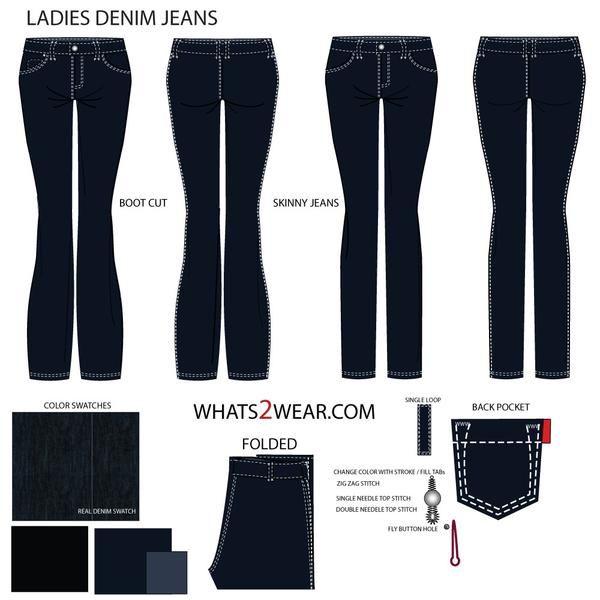 75966f9720 Croquis Femininos Vero 2018 Jeans in 2018 t Jeans