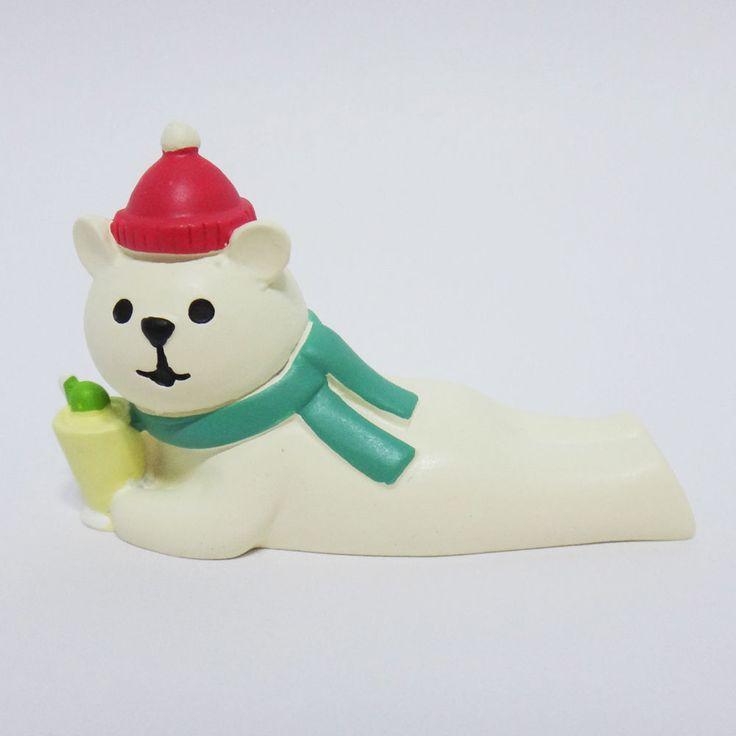 Concombre DECOLE Japan Cute Lovely Kawaii Figure Bear with Cocktail #ConcombrebyDECOLE