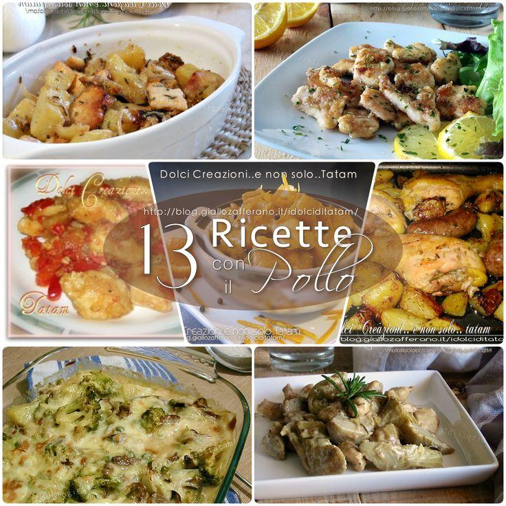 Una ricca selezione di 13 Ricette con il Pollo, una raccolta di ricette semplici, gustose e di sicuro successo: piatti unici e saporiti, per molte occasioni