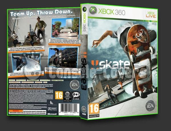 Skate 3 Cover – Wonderful Image Gallery