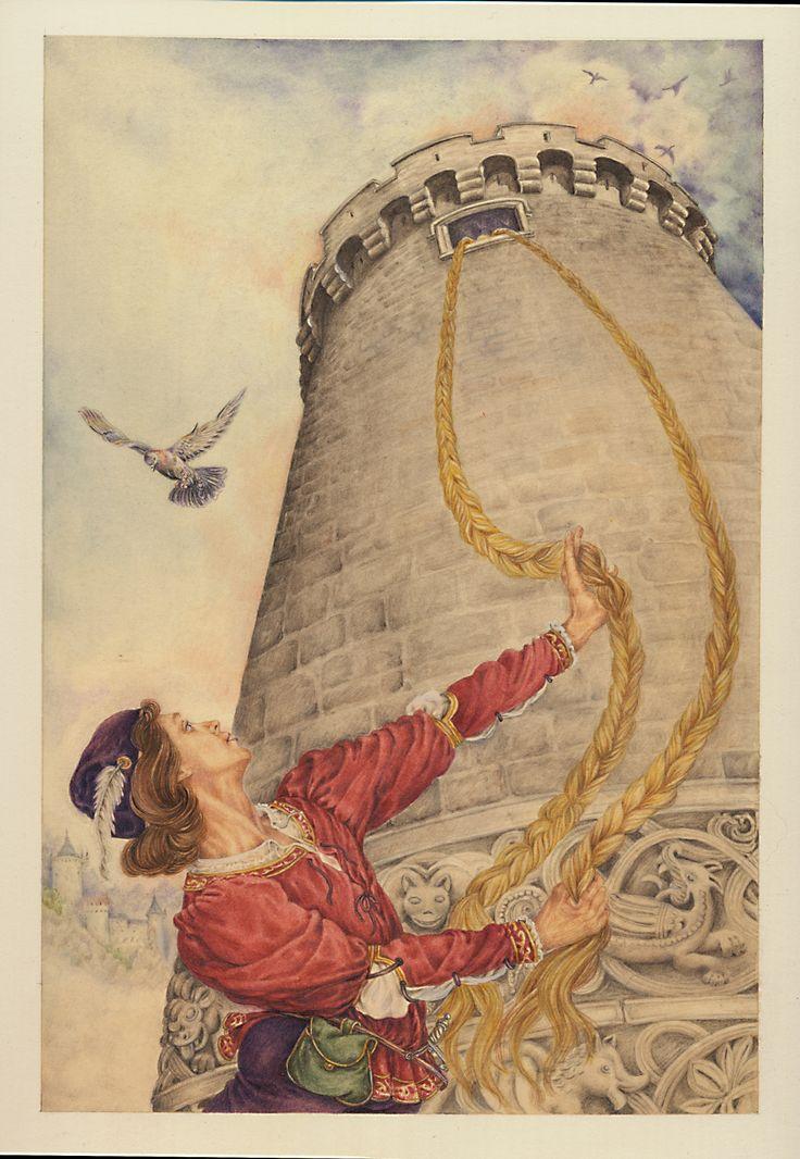 Raperonzolo F. Grimm Illustrazione Lucia Campinoti