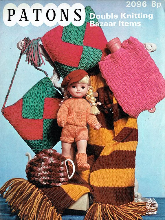 PDF Vintage Doll Clothes Premature Baby Knitting Crochet