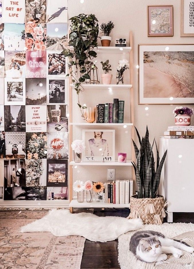 50 Special Dorm Room Ideas On Pinterest That Worth To Try Dorm Room Decor Room Decor Aesthetic Bedroom
