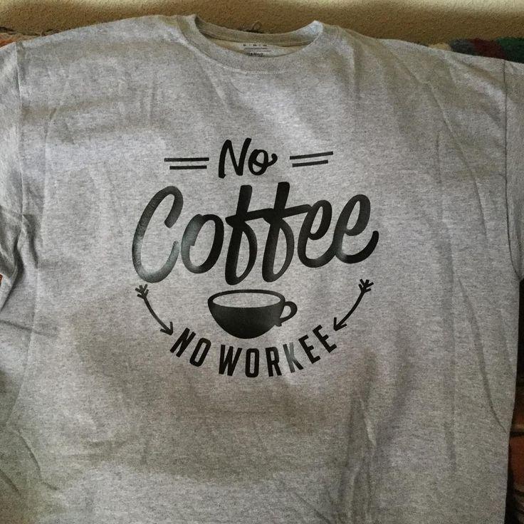 No Coffee No Workee SVG Cuttable Design