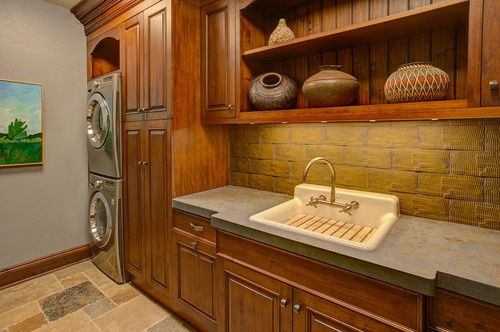 Washer Laundry Space Laundry Rooms Room Phoenix Traditional Laundry