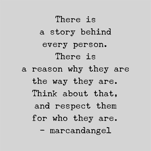 Something I need to remember right now about a particular person...