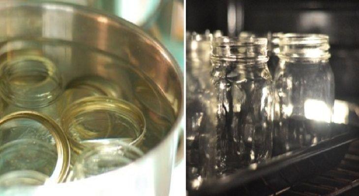 STERILIZZARE-BARATTOLI-DI-VETRO-NEL-MICROONDESterilizzare  Infine, un altro uso alternativo del forno a microonde è quello che riguarda la sterilizzazione: esso, infatti, può essere impiegato anche per sterilizzare i barattoli di vetro che dovranno essere adoperati per conservare le marmellate, le confetture, i sughi, le verdure sott'olio e i sottaceti.