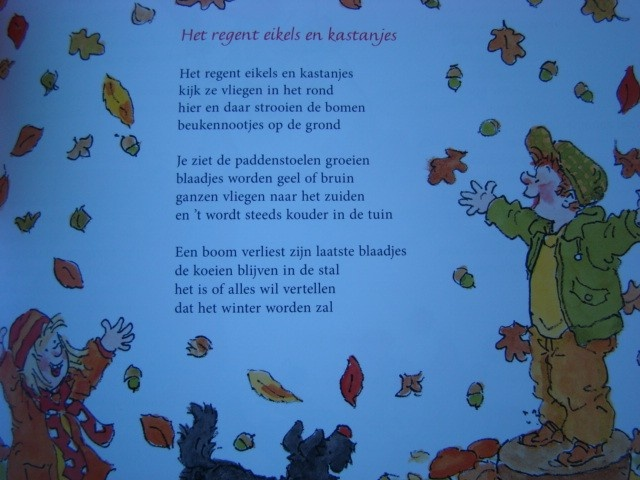 Versje herfst'