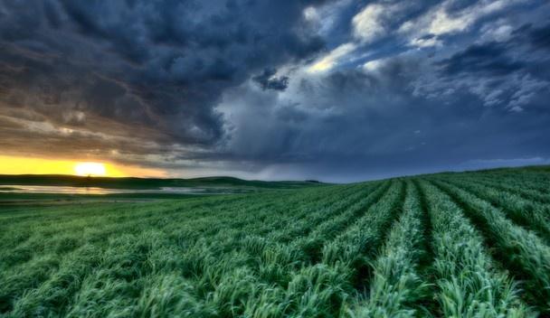 Storm Chasing near Moose Jaw, Saskatchewan