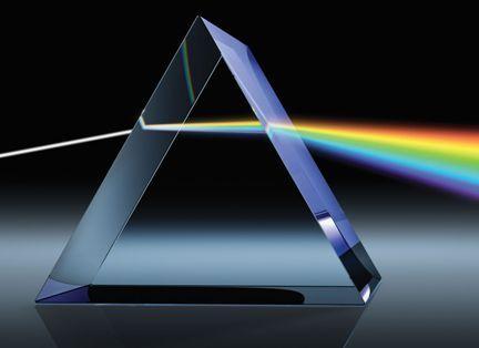 light through a prism - Google Search