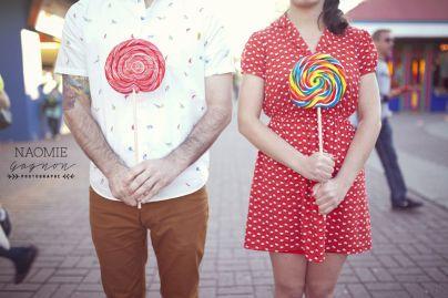 Marie-Michèle & Marc-Antoine Save the Date à la ronde de Montréal.  Couple / Save The Date / Love / Ronde / Amour / Photographie / Photography