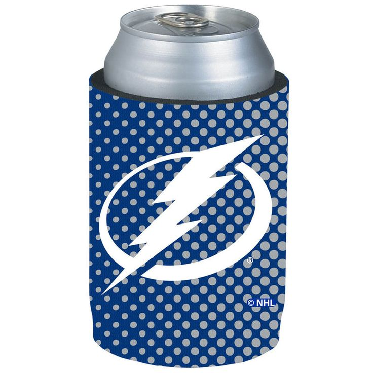 Tampa Bay Lightning Halftone Can Cooler