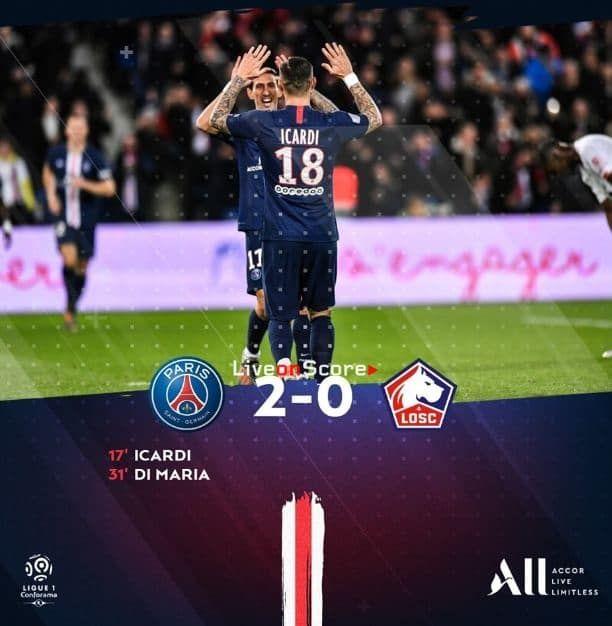 Paris Sg 2 0 Lille Full Highlight Video France Ligue 1 Com Imagens Futebol