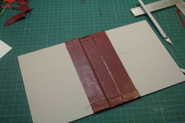 Constructing a Leather Book Cover