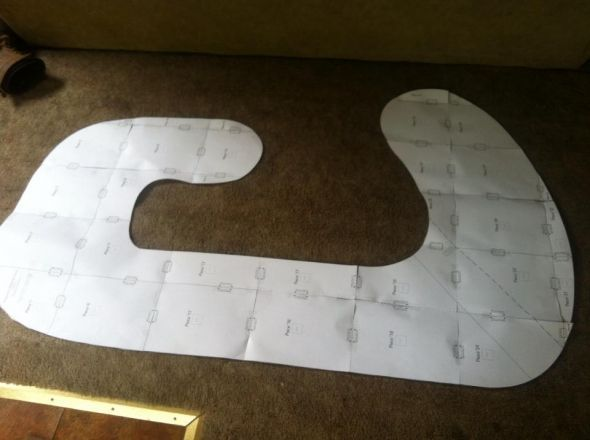 pregnancy Pillow Pattern and tutorial