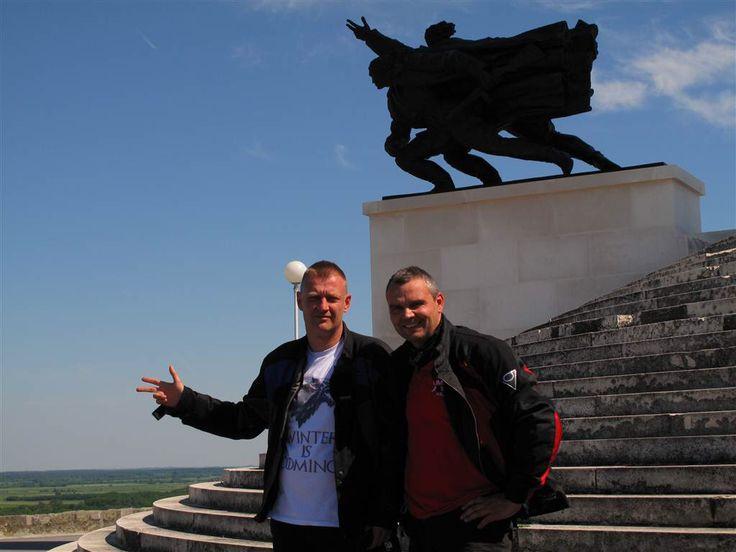 In Croatia with friend Milan