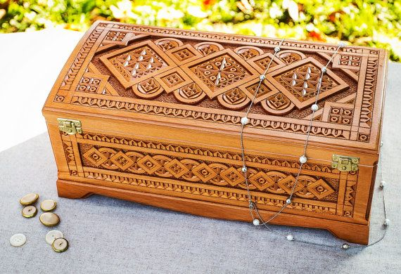 How to build a wooden trough deer feeder wood carving jewelry box
