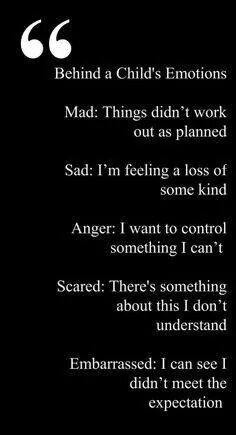 What's behind the emotions