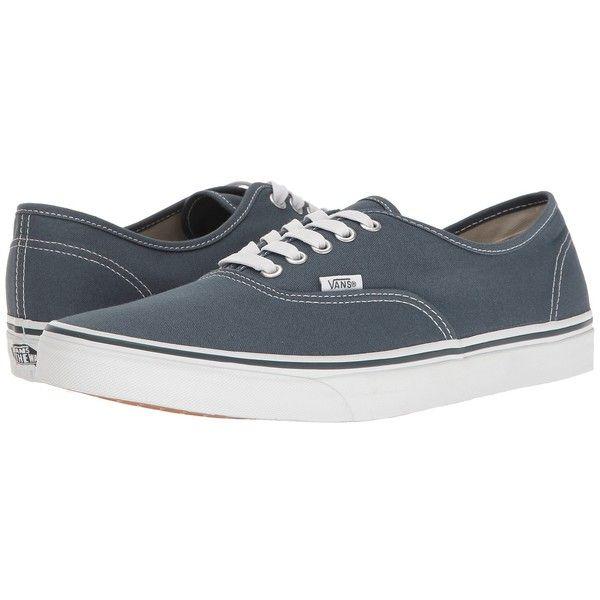 Vans Authentic ((Canvas) Dark Slate/True White) Skate Shoes (£