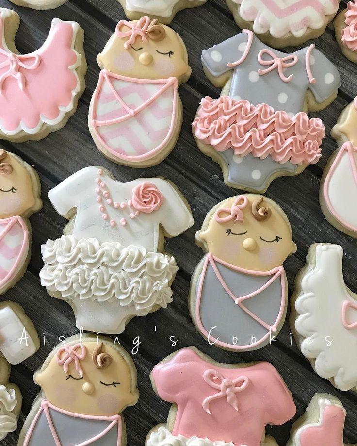 """167 Likes, 12 Comments - Aisling O'Sullivan (@aislingscookies) on Instagram: """"Sleeping babies!#decoratedcookies #babygirl #customcookies #custommade #sugarart #sugarcookies…"""""""