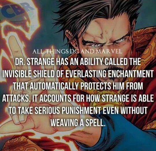 Dr. Strange  - Marvel Comics FACT !!! °°