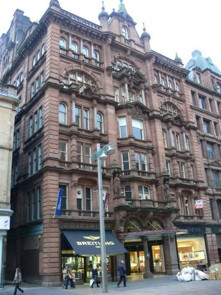 Argyll Arcade, Buchanan Street, Glasgow. Where we bought our engagement rings in 1973 and wedding rings in 1976.