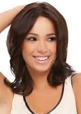 Amazing Medium Length Body Wave Remy Human Hair Full Lace Wig