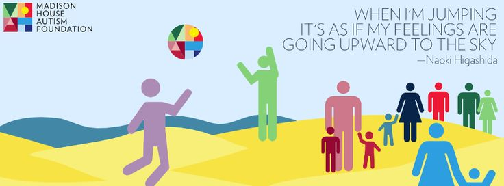 """Our latest graphic was inspired by """"The Reason I Jump"""" by #autistic author Naoki Higashida."""