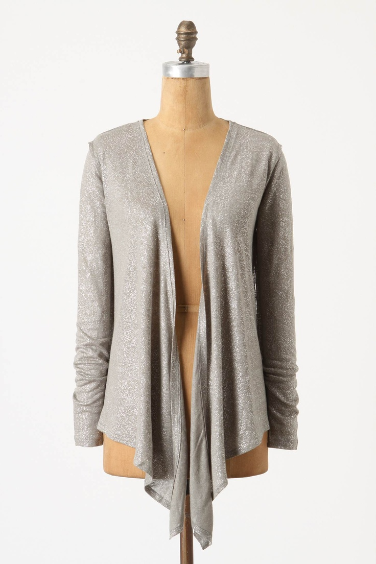for photo shoot: Everyday Fashion, Effortless Style, Silver Cardigans, Fashion Inspiration, Silver Gray, Gray Opalesc, Opalesc Cardi, The Cardigans, Anthropology Heroes