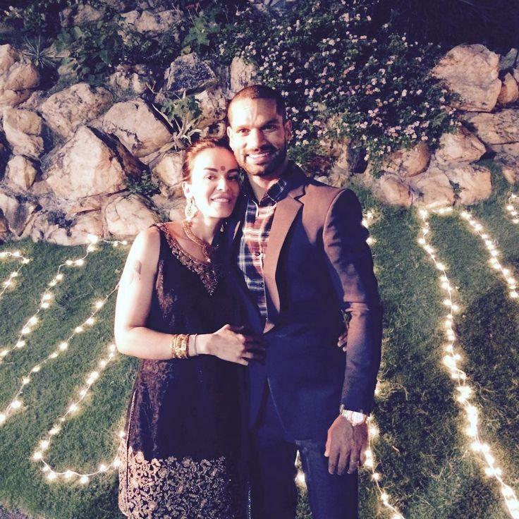 Wising my beautiful wife aesha.dhawan5 very happy