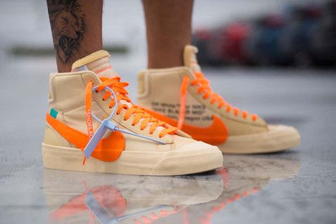 size 40 6a832 00dc6 An On-Foot Look at the Off-White™ x Nike Blazer