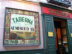 we miss you Taberna Almendro, some day soon