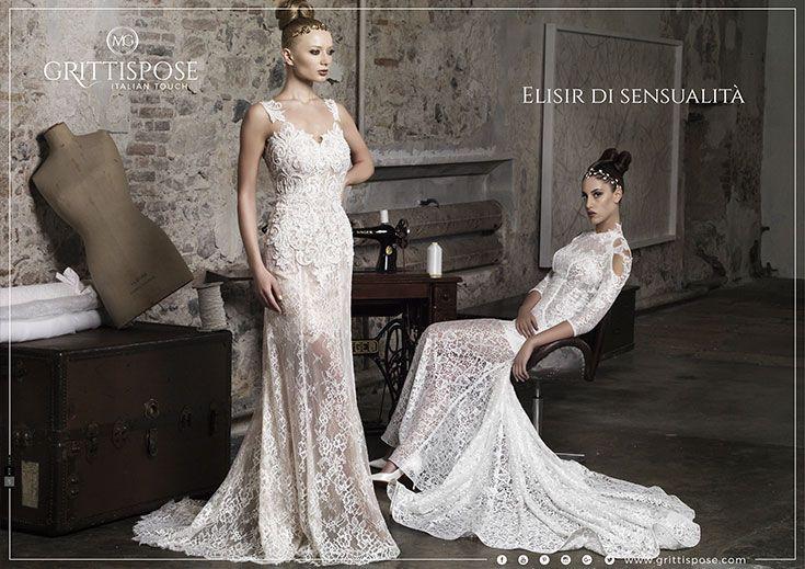 Campagna pubblicitaria GrittiSpose, creata da #effADV - #advertising campaign created by effADV - #ad #adv #wedding #bridal #weddingdress #italianstyle #madeinitaly