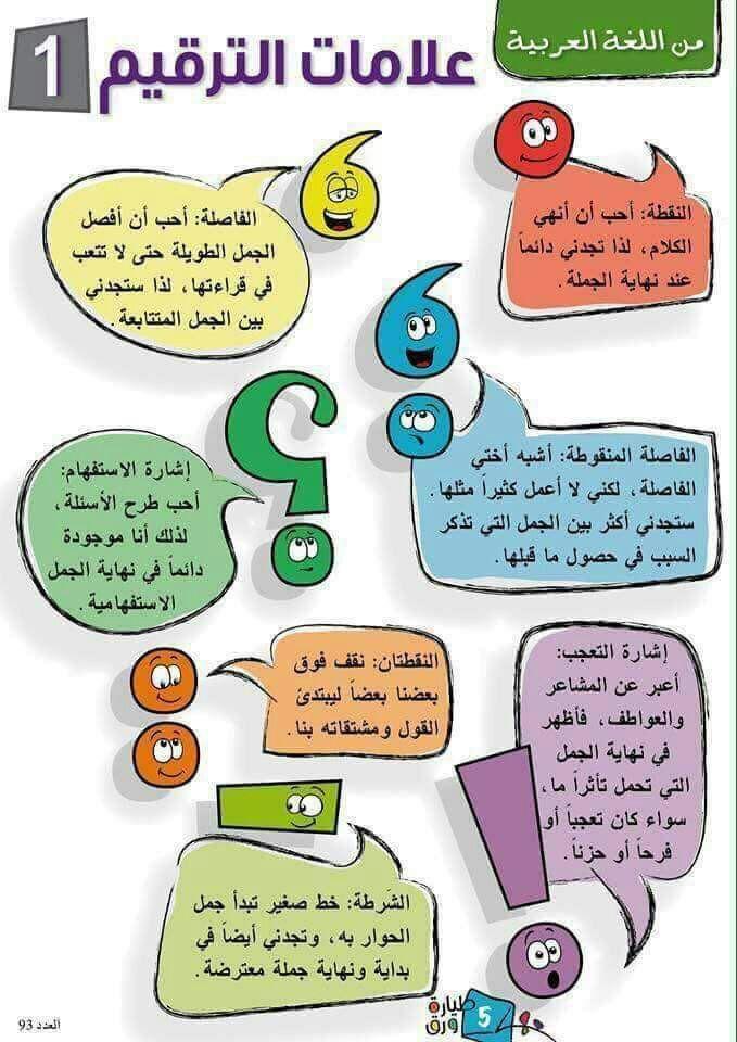 Pin By Sara Said On علامات الترقيم Learning Arabic Learn Arabic Language Arabic Kids