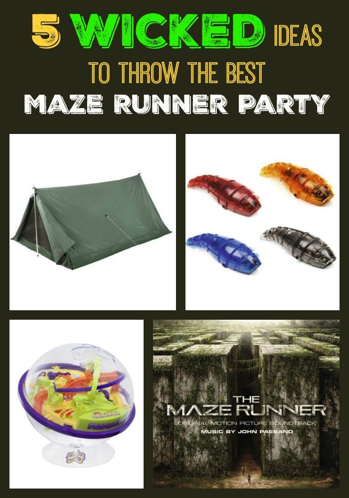 The Best The Maze Runner Party Ideas For Teens | Runners ...