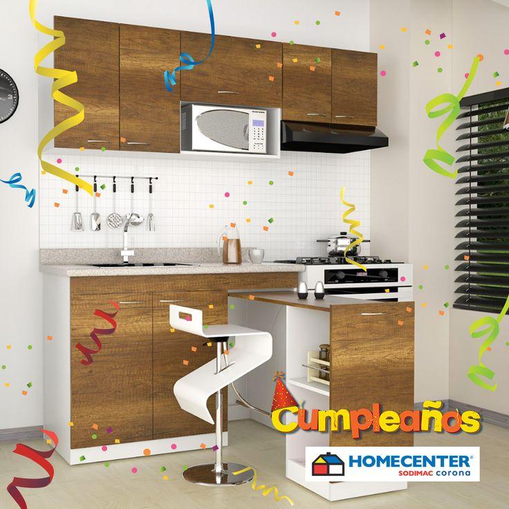 Estrena en el #CumpleañosHomecenter Cocina Galilea, paga con tu CMR $699.900. Aprovecha son 300 unidades disponibles*.