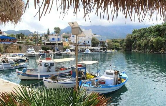 Port of Sissi. Crete