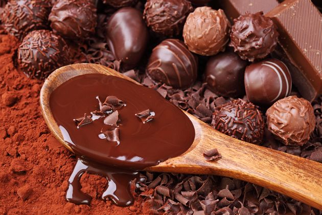 Razões para comer chocolate todos os dias