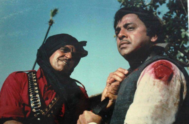 Amrish Puri & Vinod Mehra