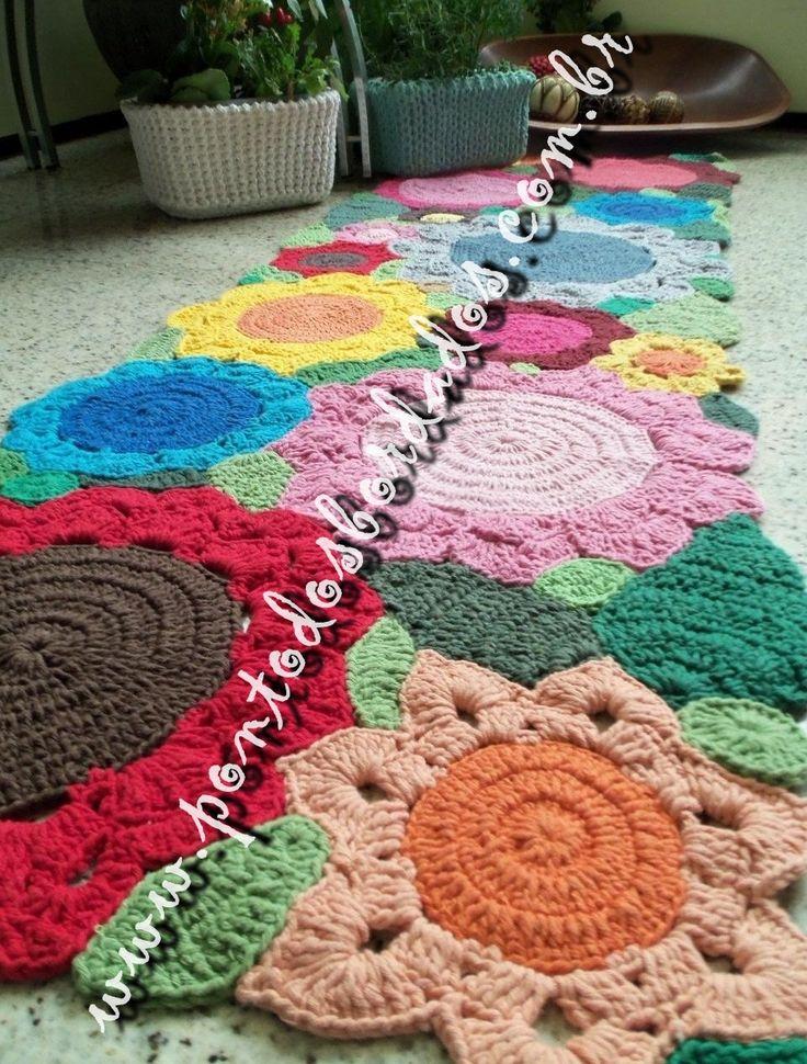 Lovely crochet rugs!